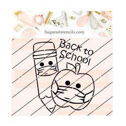 Back to school PYO cookie...